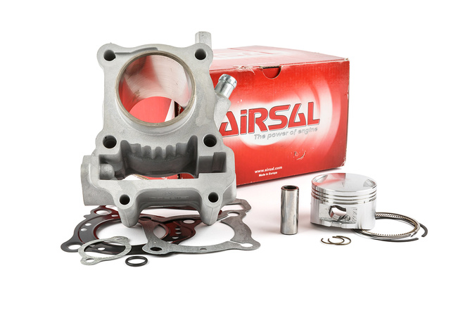 Cylindre piston Airsal 125cc Alu Honda Pantheon 125cc LC 4 Temps (FES injection)