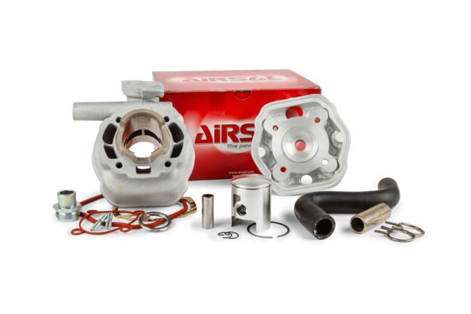 """Cylindre culasse Airsal 50cc """"T6"""" aluminium Peugeot Speedfight LC"""
