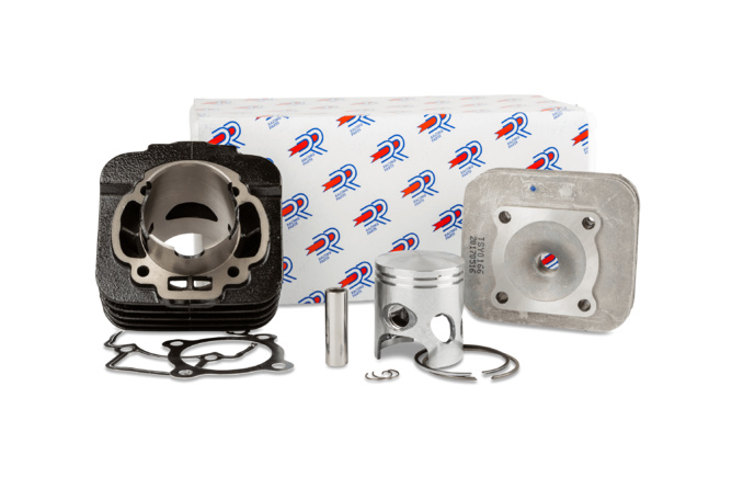 "Cylindre culasse DR 70cc ""Sport"" fonte Piaggio Typhoon / Stalker"
