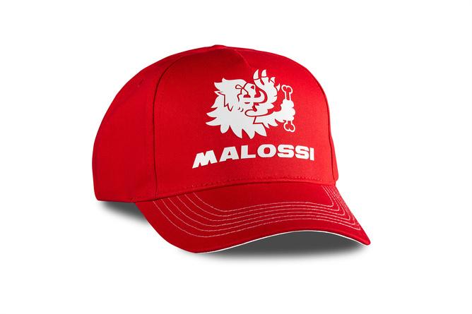 Baseballcap Malossi rot