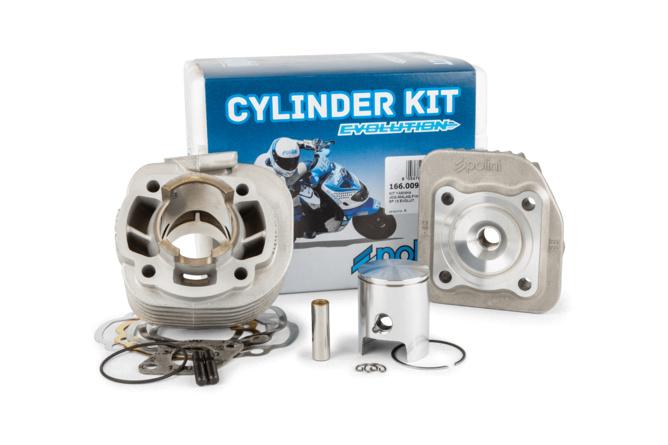 "Polini Cylinder Kit ""Evolution"" 50cc aluminium Yamaha Neo's / Ovetto"