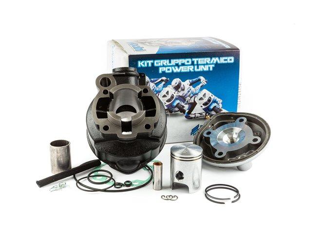 Cylindre culasse 50cc D.40,3 Polini fonte Minarelli AM6