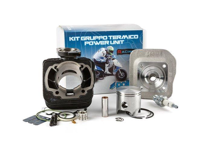 "Cylindre culasse Polini 70cc ""Corsa"" Fonte Honda Dio SP / Dio ZX / Kymco CX 2Temps AC"