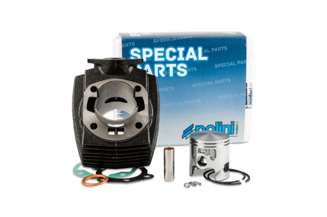 "Cylindre piston Polini 70cc ""Sport"" fonte diam.46mm Peugeot 103 AC"