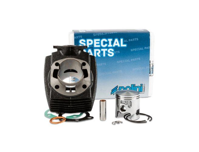 "Zylinder Polini 70cc Grauguss ""Sport"" D.46mm Peugeot 103 AC"