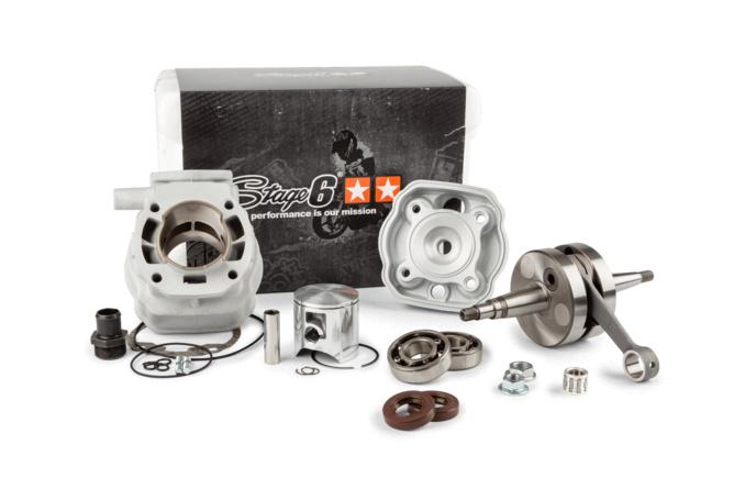 Motorpack Stage6 Big Racing 88cc Zylinder + Kurbelwelle 45mm Hub Derbi Euro2