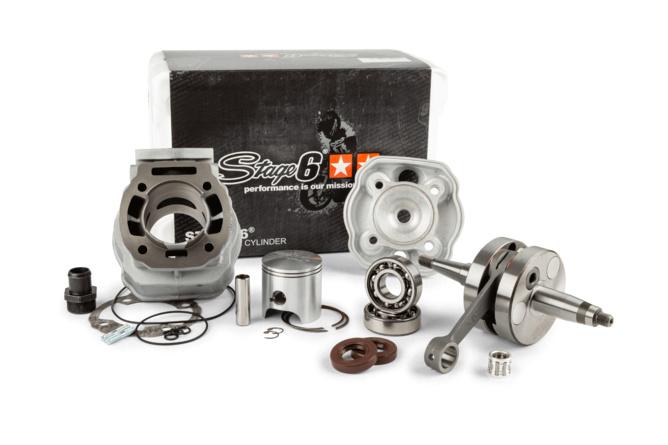Motorpack Stage6 Streetrace 88cc Zylinder + Kurbelwelle 45mm Hub Derbi Euro3 / Euro4