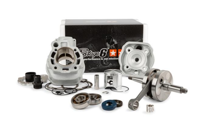 Motorpack Stage6 Big Racing 88cc Zylinder + Kurbelwelle 45mm Hub Minarelli AM6