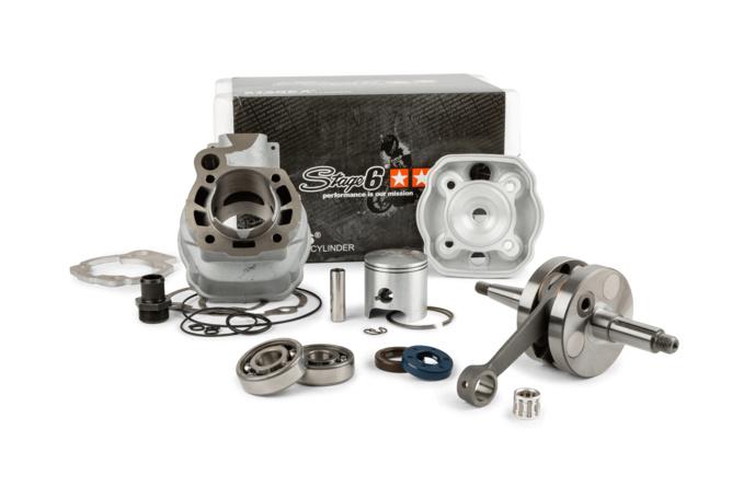 Motorpack Stage6 Streetrace 88cc Zylinder + Kurbelwelle 45mm Hub Minarelli AM6