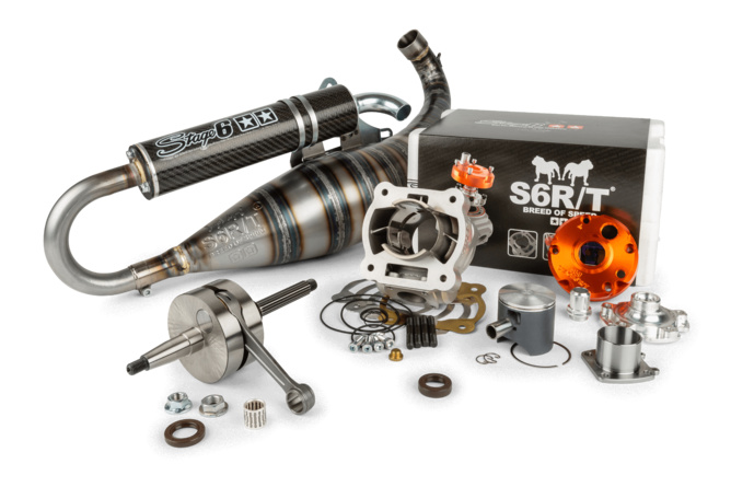 Motorpack Zylinder + Kurbelwelle + Auspuff Racing Stage6 R/T FL100