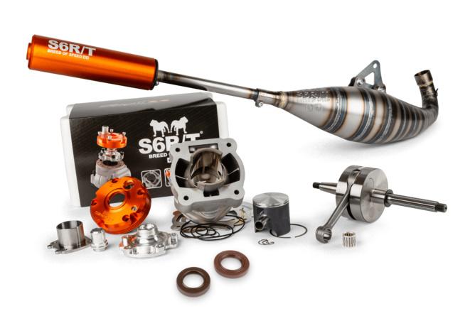 Motorpack Zylinder + Kurbelwelle + Auspuff Drag Race Stage6 R/T FL100