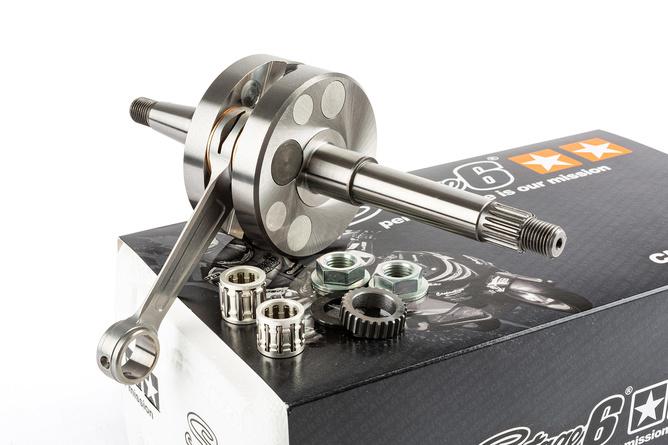 Kurbelwelle Stage6 R/T 85mm-Pleuel 44mm Hub 12mm Piaggio / Gilera / Aprilia / Derbi / Vespa 50cc