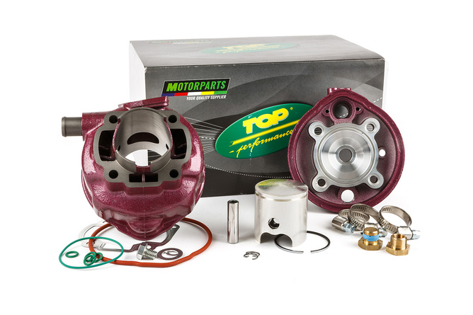 "Top Performances Cylinder Kit ""Due Plus"" 70cc cast iron Yamaha Aerox / MBK Nitro"