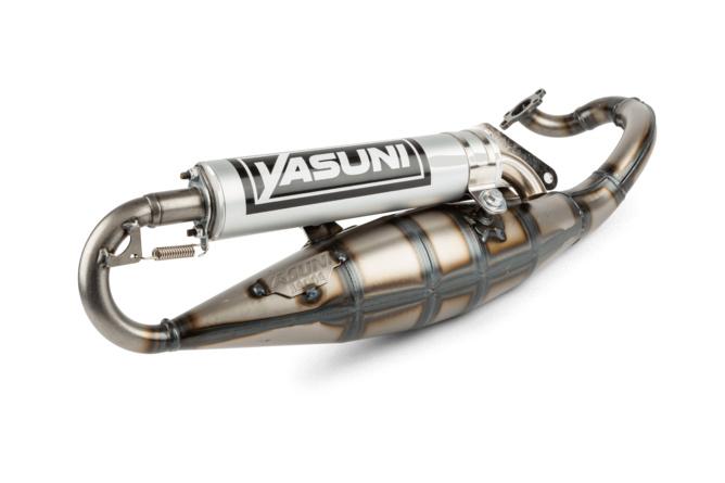 """Yasuni Exhaust """"R"""" aluminium"""