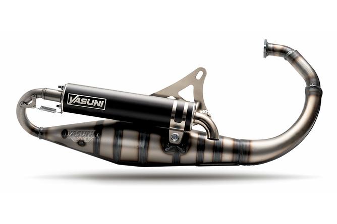 Auspuffanlage Yasuni Carrera 10 Black Minarelli stehend