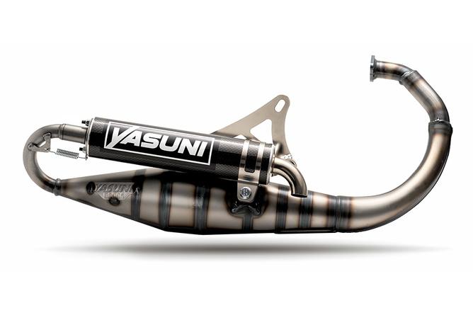 Pot d'échappement Yasuni Carrera 10 Carbone MBK Booster / Stunt